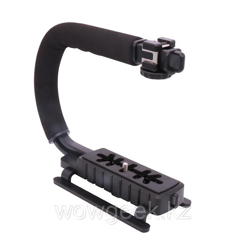 Стабилизатор для профессиональной съемки Ручка Рог для фотокамеры Canon Sony Nikon