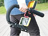 Стабилизатор для профессиональной съемки Ручка Рог для фотокамеры Canon Sony Nikon, фото 2