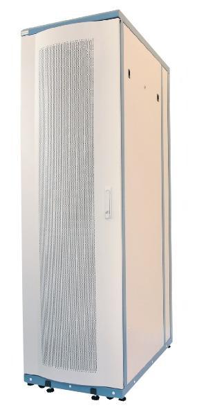 60F-42-6A-88GY Eurolan Server Cabinet серверный шкаф 42U 600x1000мм, передняя дверь перфорированная