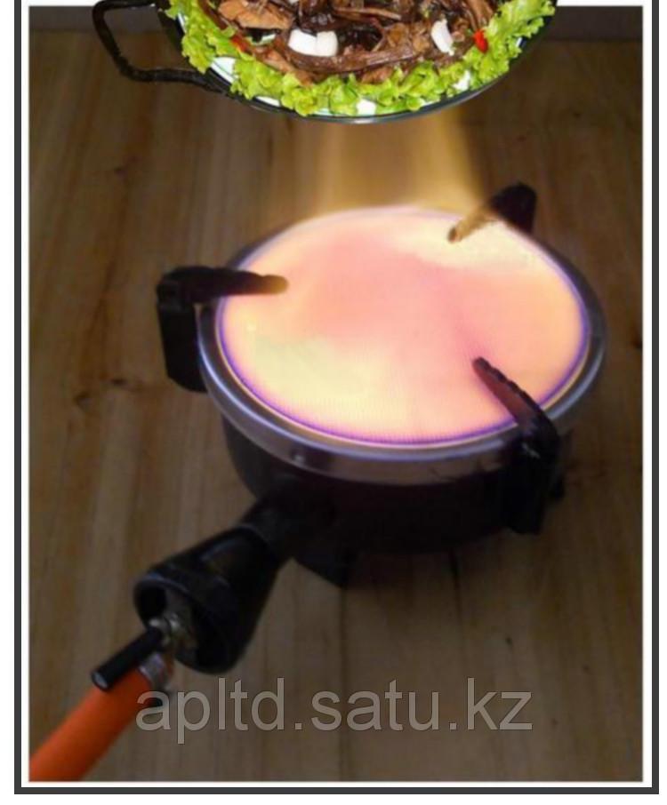Плитка газовая (походная горелка) туристическая керамическая - фото 4