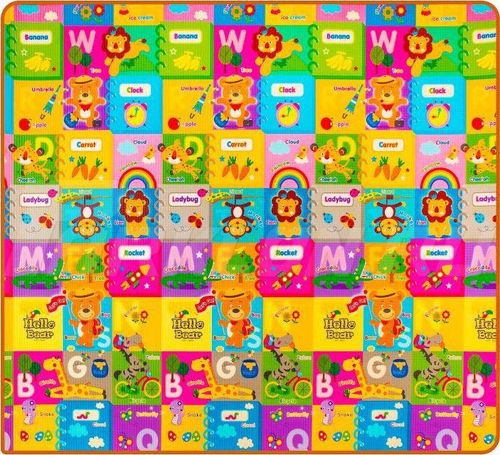 Детский коврик Парклон Страна чудес+ Буквы 200*180*1.5,