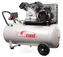 Поршневой компрессор с электродвигателем Remeza Aircast СБ4/С-50. LB 30