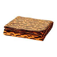 Покрывало/одеяло ДУВТРЭД оранжевый ИКЕА, IKEA , фото 1