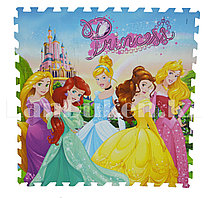 Детский коврик-пазл Принцессы Диснея 9 элементов