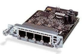 Модуль Cisco VIC3-4FXS/DID=