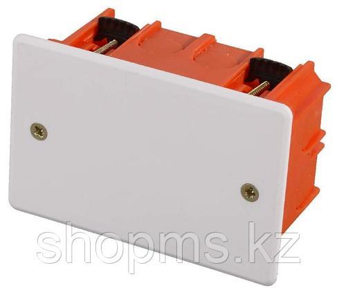 Коробка монтажная СВЕТОЗАР для полых стен, макс. напряжение 400В, с крышкой, 100х100х50мм, прямоугол, фото 2