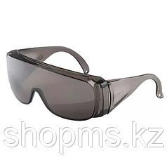 Очки защитные открытого типа, затемненные, ударопрочный поликарбонат, бок. и верх. защита// СИБРТЕХ