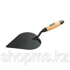 Кельма штукатура стальная, деревянная ручка// СИБРТЕХ
