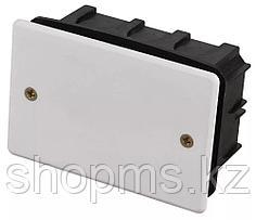 Коробка монтажная СВЕТОЗАР для подштукатурного монтажа, макс. напряжение 400В, с крышкой, 100х60х50м