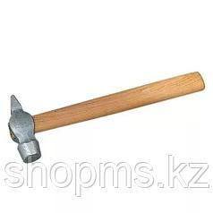 Молоток слесарный, 500 г, круглый боек, деревянная ручка // Россия
