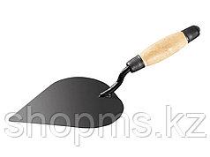 Кельма штукатура стальная, деревянная ручка// Россия