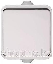 Выключатель СВЕТОЗАР БАТТЕРФЛЯЙ одноклавишный, цвет белый,10А/~250В