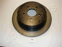 Комплект тормозной диск задний DP706 JAPANPARTS SUBARU B13