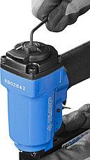 Степлер пневматический для скоб тип 53F (10-22 мм) и тип 140 (10-14 мм), ЗУБР Профессионал, фото 3