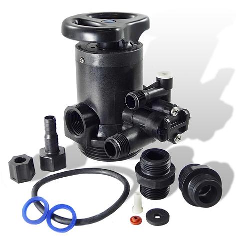 Ручной клапан Runxin TM.F64C - умягчитель, снизу-вверх, до 2 м3/час, фото 2
