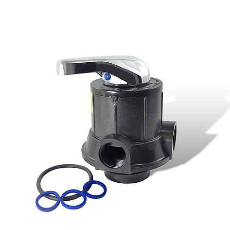 Ручной клапан Runxin TM.F56A - фильтр., до 4,5 м3/час, фото 2