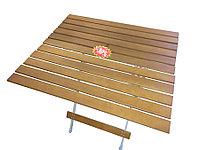 Складной стол HOLZ (70х80х70см)(4,7кГ)(до 20кГ)(дерев.) R 82040