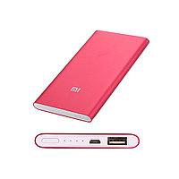 Портативное зарядное устройство (пауэрбанк) Xiaomi Mi Power Bank 5000mAh Красный