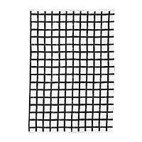 Ткань ДВЭРГБЬЁРК белый/черный  ИКЕА IKEA