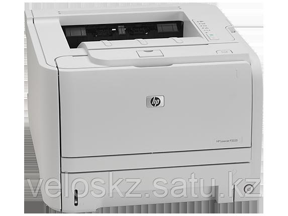 Принтер HP LaserJet P2035 (CE461A), лазерный, ч/б, A4