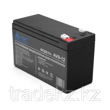 Аккумуляторная батарея SVC AV9-12, 12В, 9 Ач, фото 2