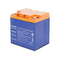 Аккумуляторная батарея SVC VP1224, 12В, 24 Ач