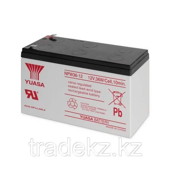 Аккумулятор для UPS Yuasa NPW 36-12, 12В/7.5А*ч