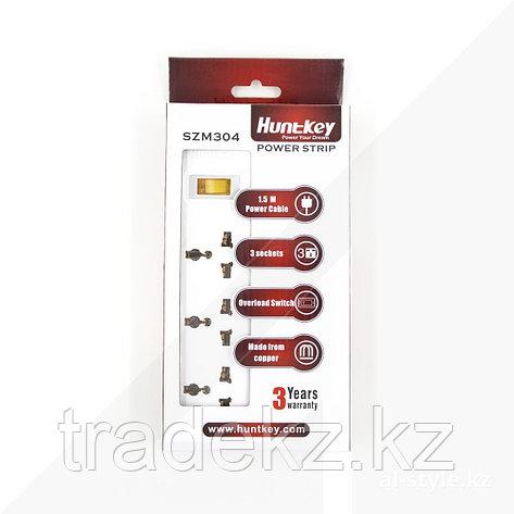 Сетевой фильтр HuntKey SZM304 1.5M, фото 2