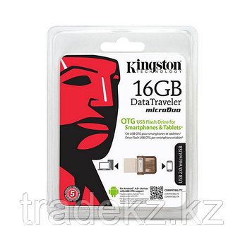 USB-накопитель Kingston DataTraveler® MicroDuo (DTDUO) 16GB, фото 2