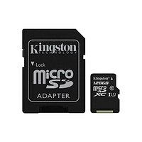 Карта памяти Kingston SDC10G2/128GB Class 10 128GB + адаптер для SD