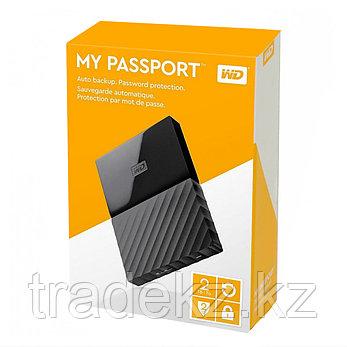"""Внешний жёсткий диск Western Digital 2TB 2.5""""  WDBUAX0020BBK-EEUE USB 3.0 Чёрный, фото 2"""