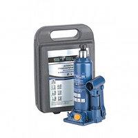 Домкрат гидравлический бутылочный 2 т h подъема 181–345 мм, в пласт. кейсе STELS 51121 (002)