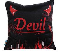 """Подушка """"Devil """", 36х36 см"""