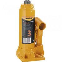 Домкрат гидравлический бутылочный 3т h подъема 180-340 мм SPARTA 50322 (002)