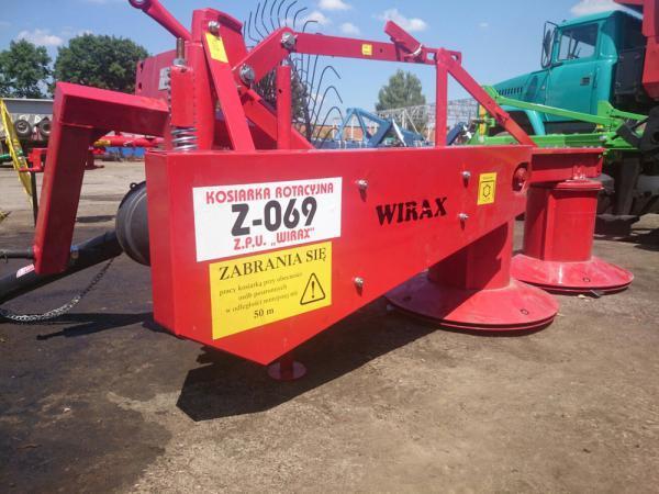 Роторная косилка Z-069 ширина захвата 1,85м Польша