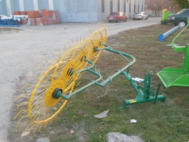 Грабли-ворошилки 5ти колесныевалковые Ekiw