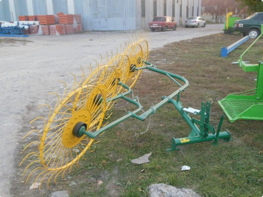 Грабли-ворошилки 5ти колесныевалковые Ekiw, фото 2