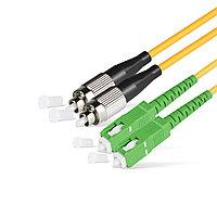 Патч Корд Оптоволоконный SC/APC-FC/UPC SM 9/125 Duplex 3.0мм 1 м