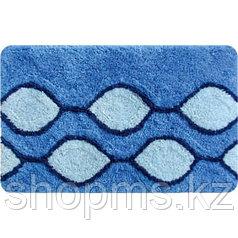 Коврик IDDIS 400A580i12 Curved Lines (Blue) 50*80