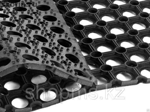20003 Коврик ячеистый грязесборный Vortex черный 80*120 см, фото 2