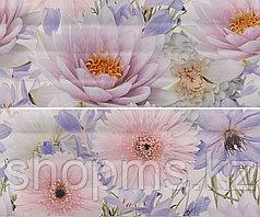 Керамическая плитка GRACIA Aquarelle lilac panno 01 (600*500)