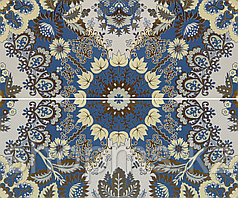 Керамическая плитка GRACIA Erantis blue panno 01 (600*500)