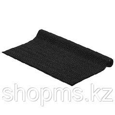 22104 Коврик ребристый влаговпитывающий Vortex черный 120*150 см