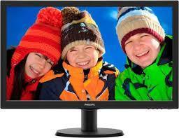 Монитор Philips LCD 23,6 243V5QHSBA/01