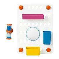 Панель с аксессуарами ЛОДДАН с присосками ИКЕА, IKEA