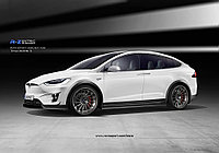 Обвес R-Zentric RevoZport для Tesla Model X, фото 1
