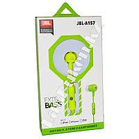 Наушники вакуумные JBL зеленые