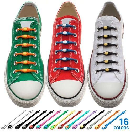 Шнурки силиконовые для обуви