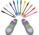 Шнурки силиконовые для обуви, фото 2
