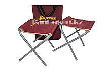Набор 2 складных стула туристических 30х24 см высота 35 см с сумкой Chanodug Outdoor